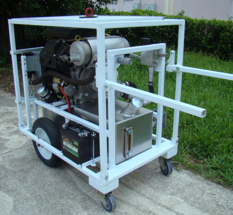 Denver News Gas Leak: Crete-Cut Concrete Cutting Gas Power Unit