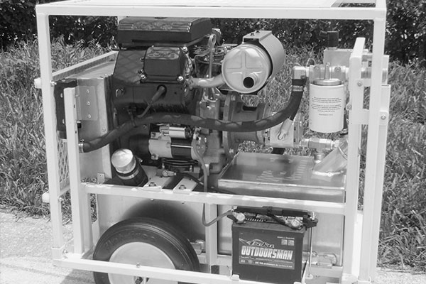 hydraulic concrete cutting equipment - Gas Power Pack